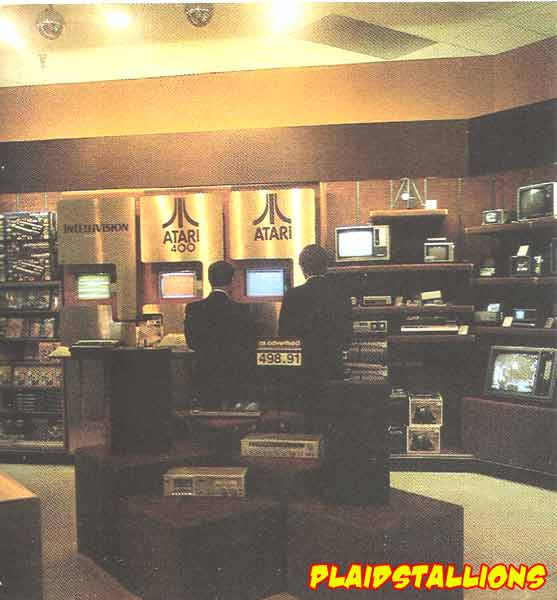 Atari display