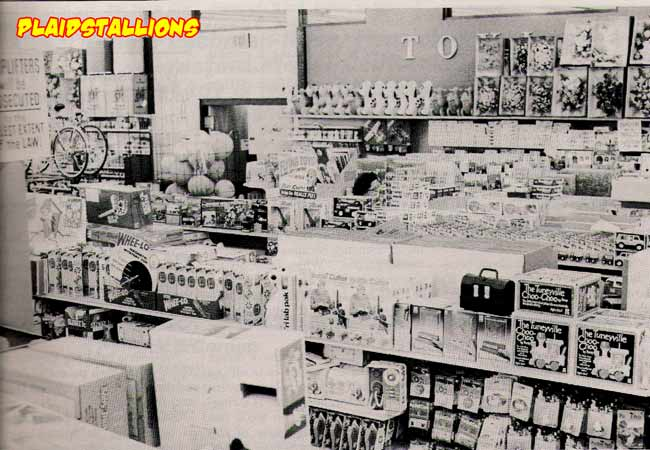 Toy Department in the late 1970's