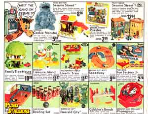 Mego Wizard of Oz and Fisher Price Sesame Street