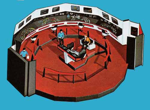 Star Trek Bidge Model Kit