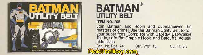 Remco batman Utility Belt