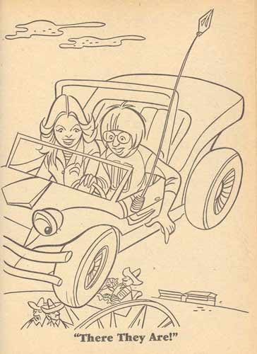 wonderbug colouring  book