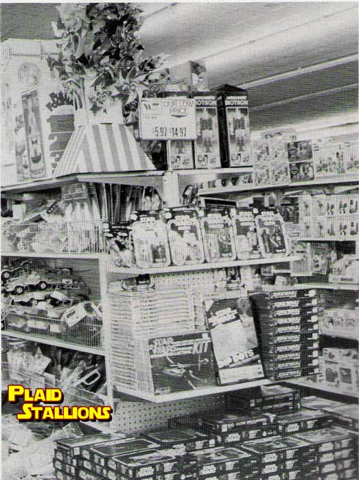 Woolco Star Wars Display from the 1970's