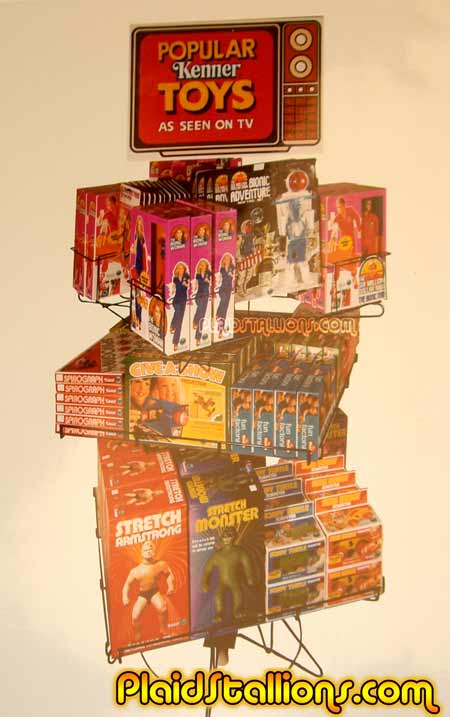 Stretch Armstrong store display