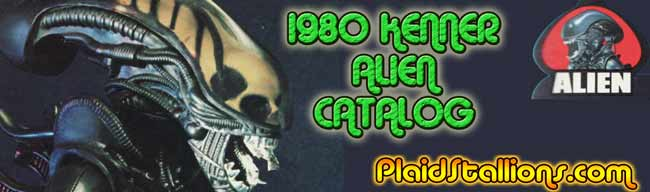 kenner alien catalog