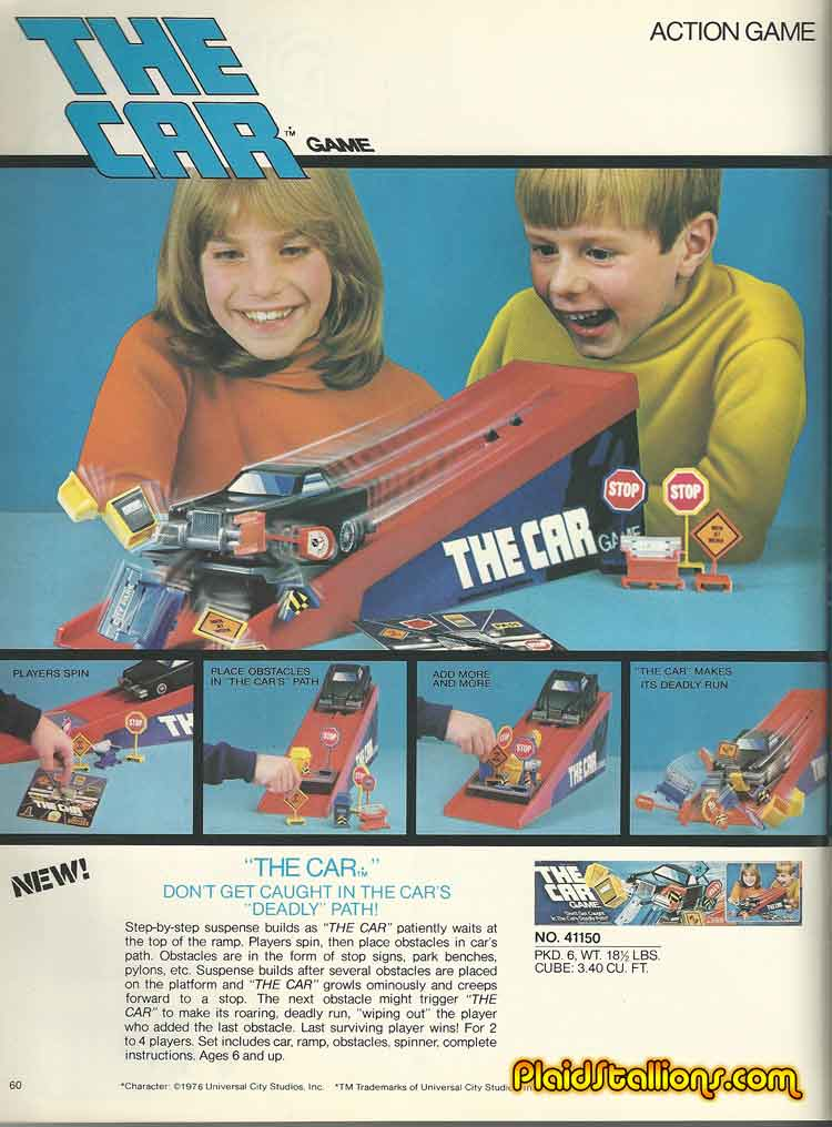 Kenner the Car game