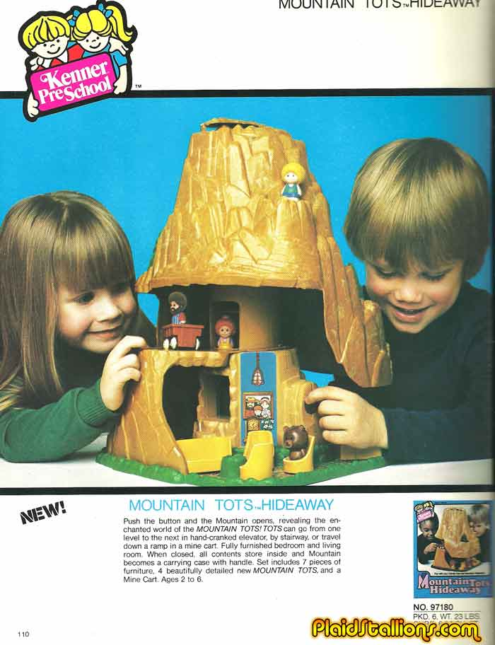 Awesome Kenner Treehouse Part - 8: Kenneru0027s Tree Tots