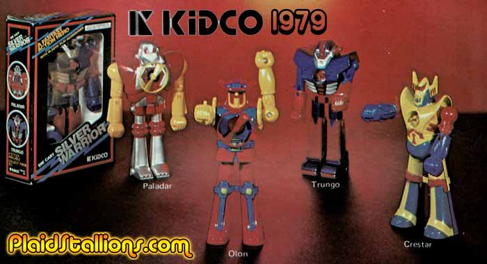 Kidco silver warriors