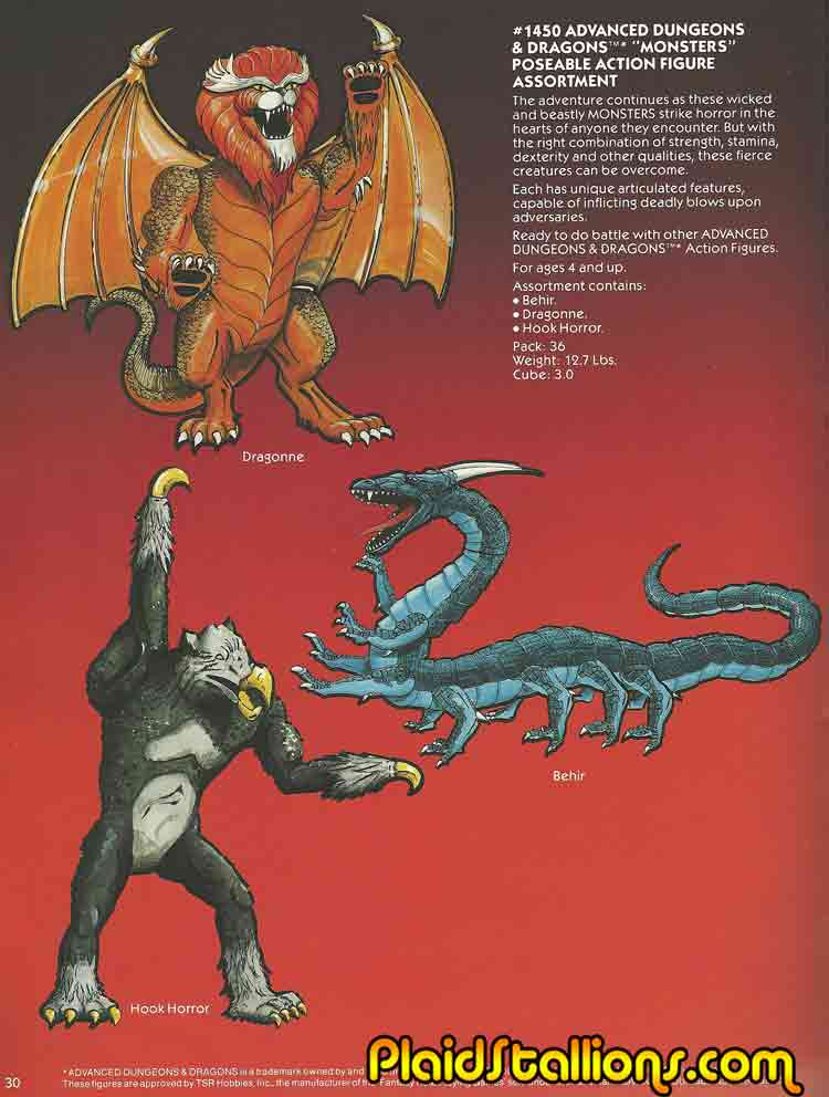 1983 Ljn Dungeons And Dragons Toys I Warduke I Hook Horror The hook horror was introduced to the d&d game in the first edition of advanced dungeons the hook horror was first published in white dwarf #12 (april/may 1979), in the fiend factory column. plaid stallions