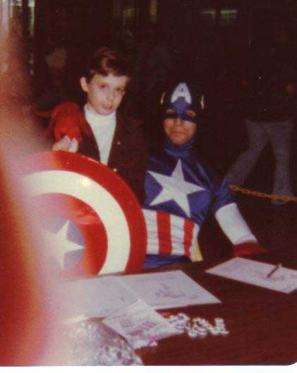 captain america mall appearance