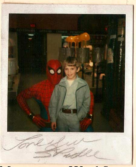 Kelly meets Spiderman