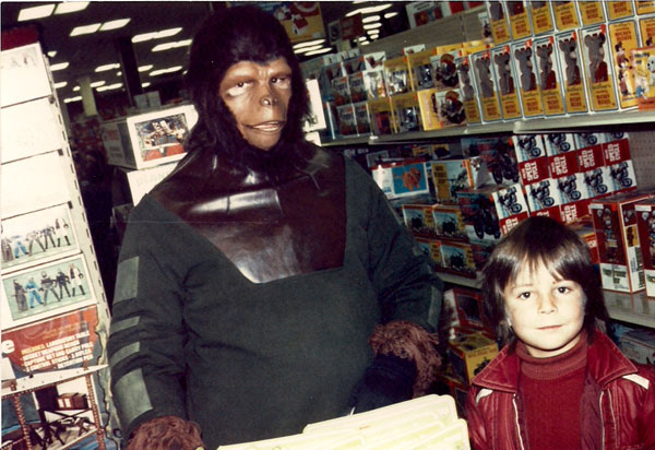 planet of the apes Store Appearance