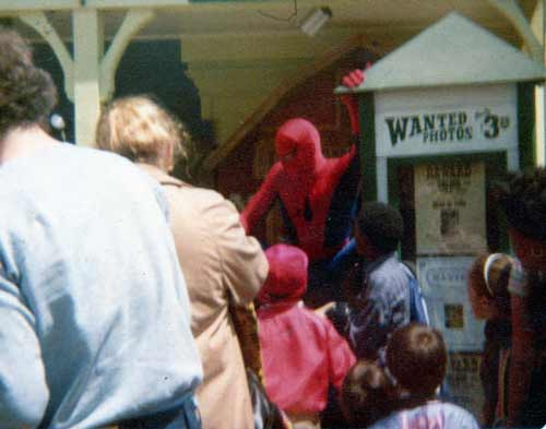 Spider Man at Six Flags