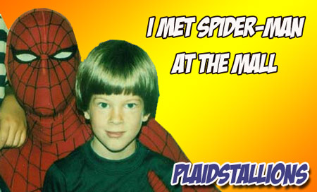 click here to see Superheroes at the mall