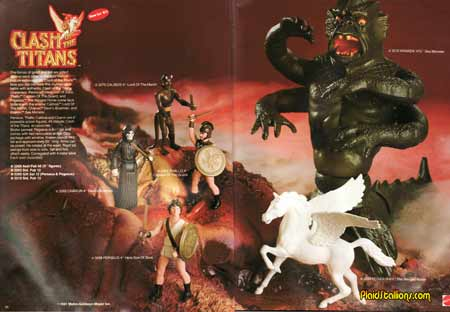 mattel clash of the titans catalog