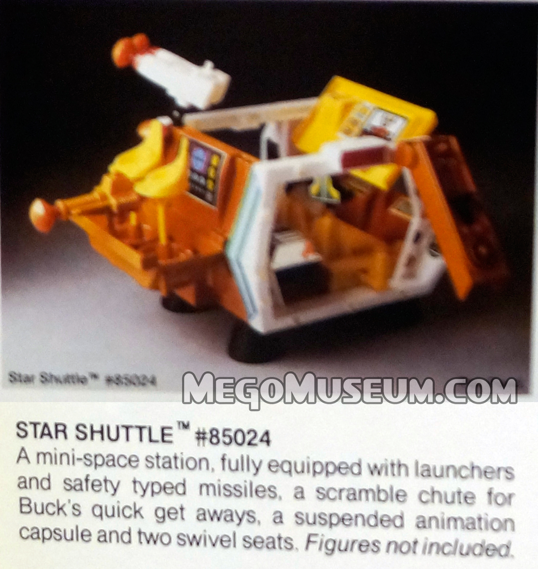 buck rogers star shuttleu star shuttle is also known as the micronauts astro station a repurposed toy from the takara microman line