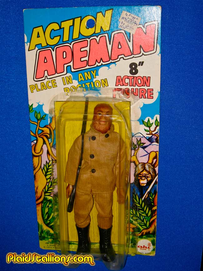 action apeman carded