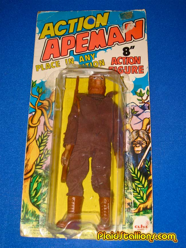 Action Apeman on original Kresge card