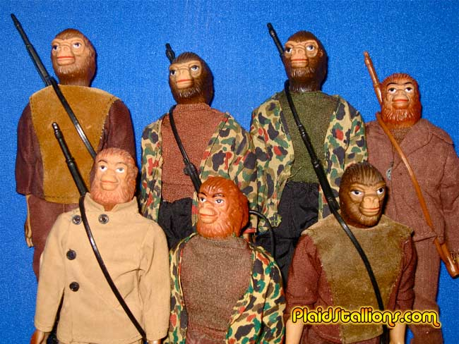 AHI Planet of the Apes figures