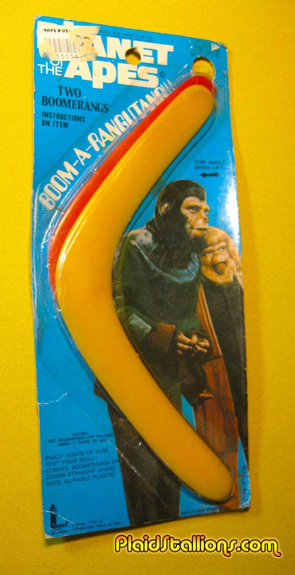 Planet of the apes boomarang
