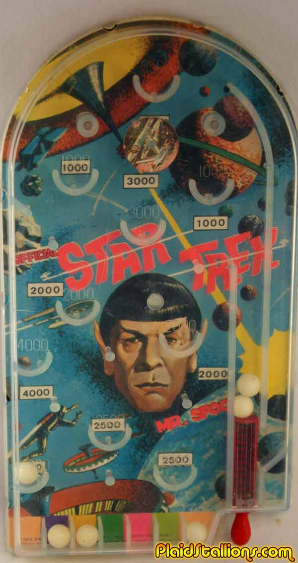 AHI Star Trek pinball game