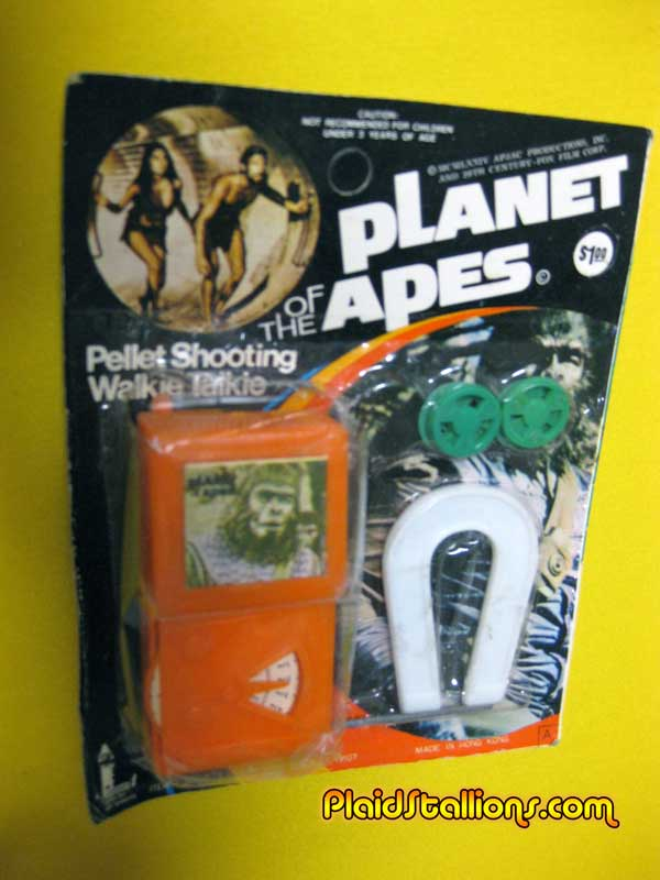 planet of the apes walkie talkie