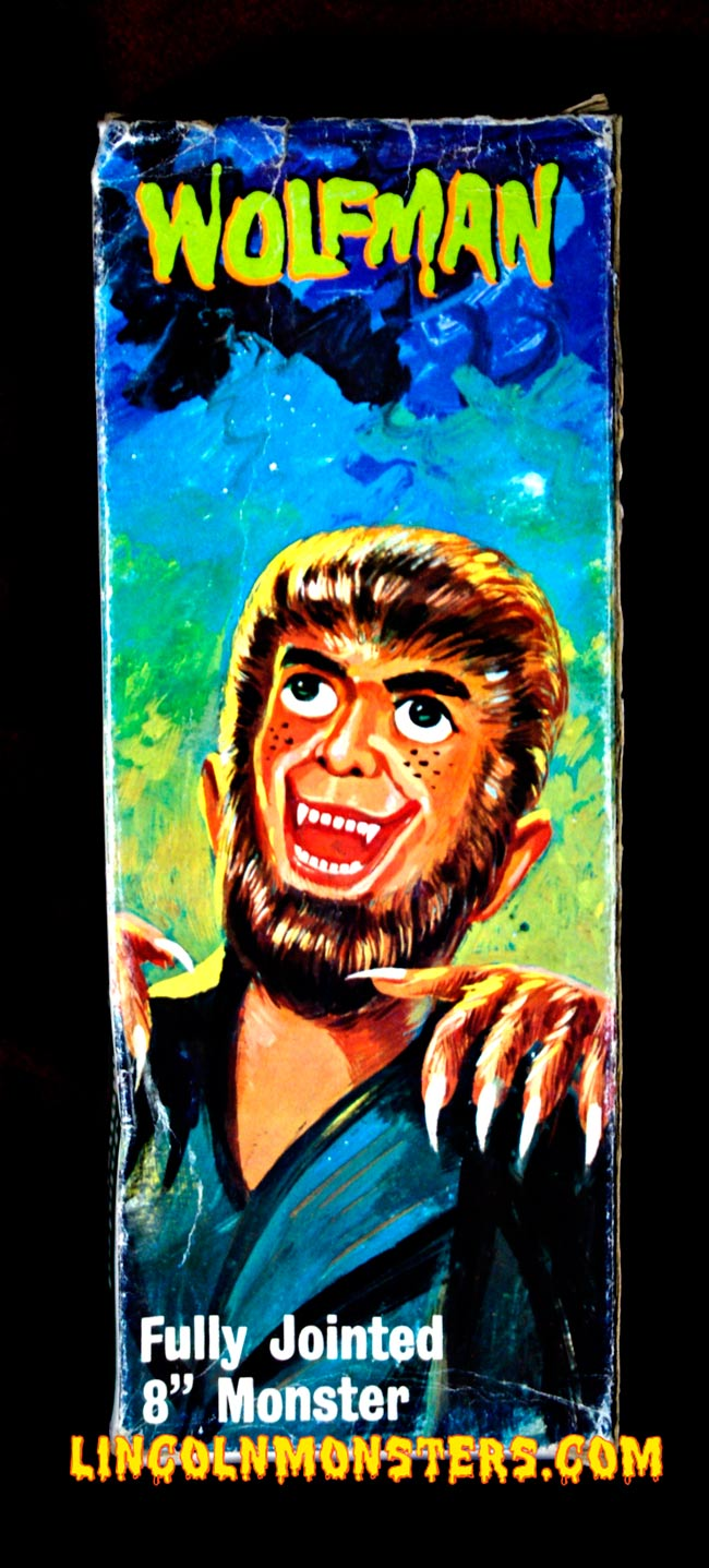solid boxed lincoln international Wolfman figure