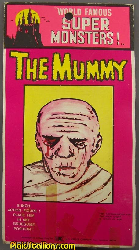 AHI Mummy on a kresge card