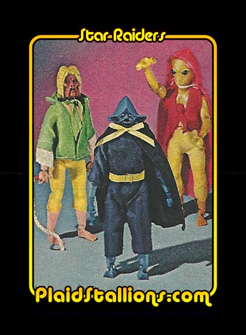 Tomland Star Raiders Toy Gallery I Mego Knock Off I