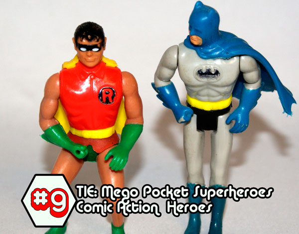 mego comic action heroesE