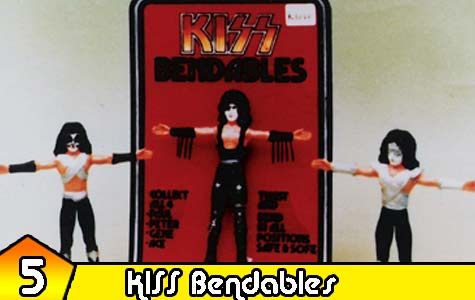kiss bendable by Mego