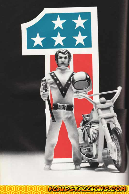 In 1974 ideal s evel knievel was one of the hottest action figures