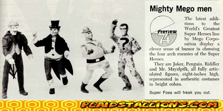 Mego Superfoes