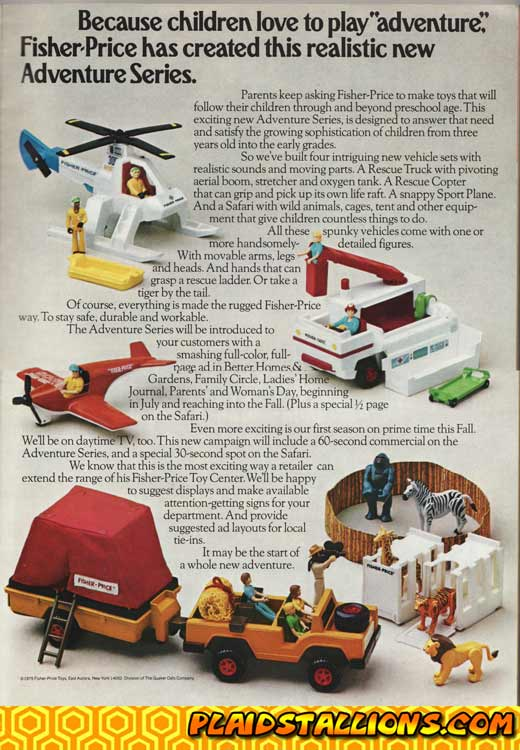 fisher price adventure people