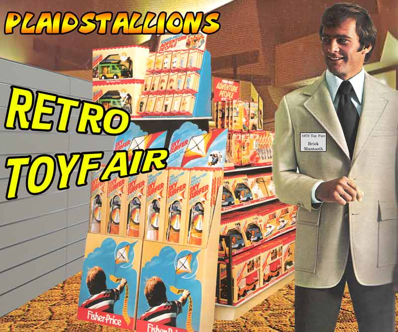 plaidstallions retro toy fair coverage