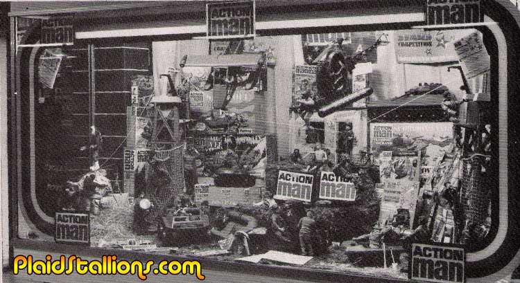 Action Man Store Display