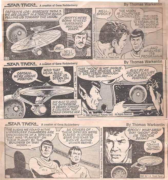 Star trek the comic strip