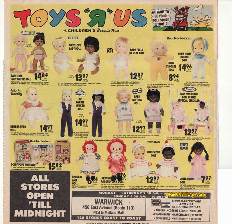 Toy R Us Store Catalog : Toys r us toy catalog hollie hobbie i