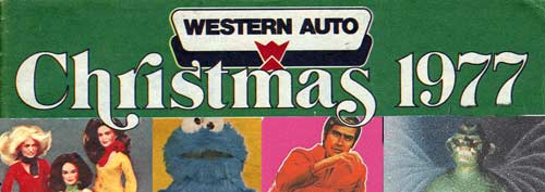 1977 western auto toy catalog christmas