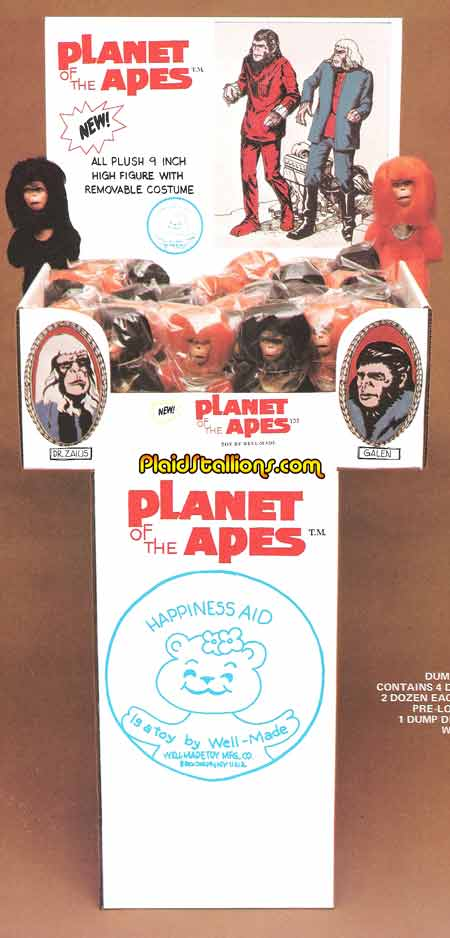 Planet of the Apes Toys by Well Made