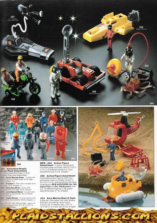 Fisher Price I Adventure People I 1983 Catalog I Plaidstallions Com