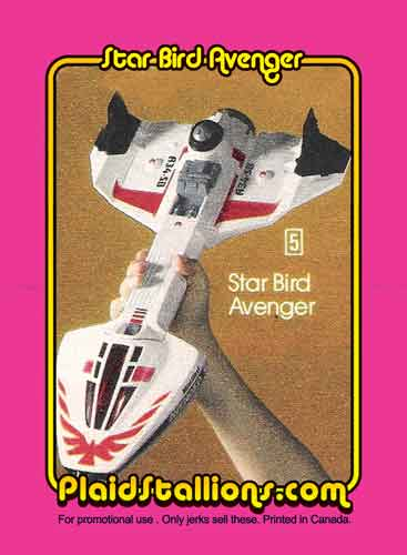 Starbird toy from Plaid Stallions